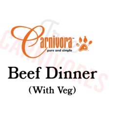 Carnivora Beef Dinner Grass-Fed