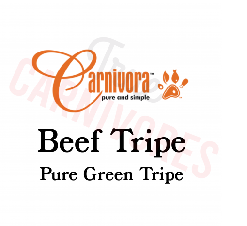 Carnivora Beef Tripe