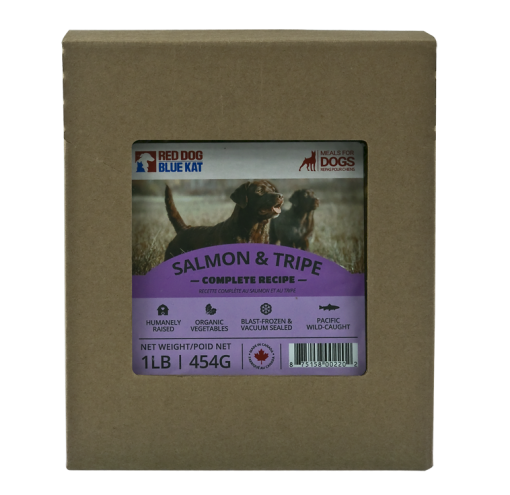 RDBK Salmon With Tripe Complete for Dogs