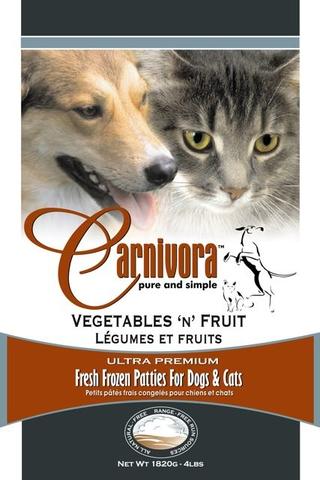 Carnivora Vegetables and Fruit