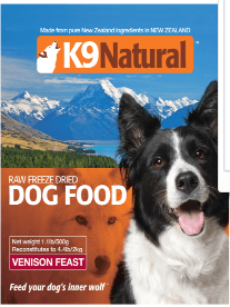 Freeze Dried Venison by K9 Naturals