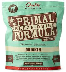 Primal Freeze Dried Chicken Formula