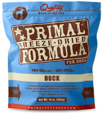 Primal Freeze Dried Duck Formula