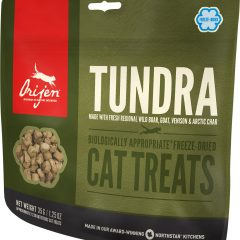 orijen tundra cat treat