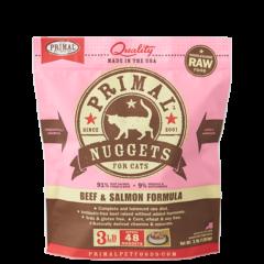 Primal Feline Frozen Beef & Salmon
