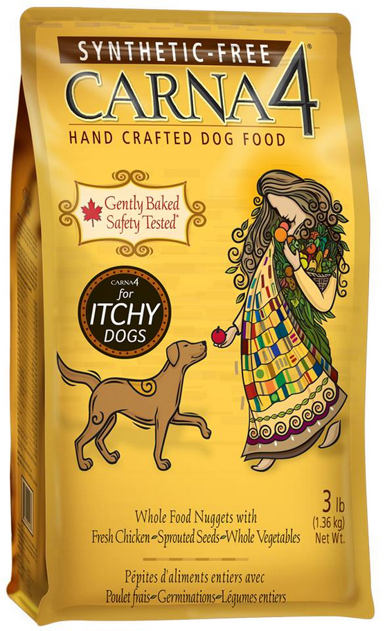 Carna 4 Chicken Synthetic Free Dry Dog Food True Carnivores