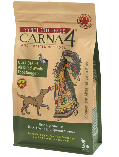Carna 4 Duck Synthetic Free Dry Dog Food True Carnivores