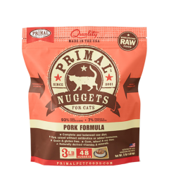 Primal Feline Raw Pork