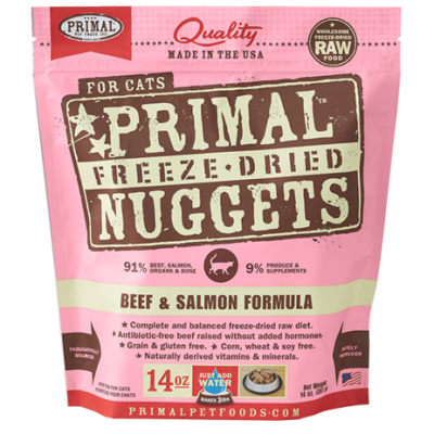 Primal Feline Freeze Dried Beef