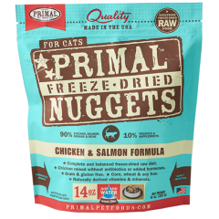 Primal Feline Freeze Dried Chicken & Salmon