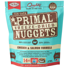 Primal Feline Freeze Dried Chicken & Salmon Formula
