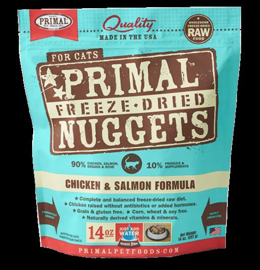 Primal Feline Freeze Dried Chicken & Salmon