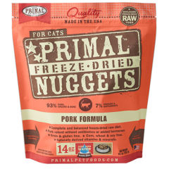 Primal Feline Freeze Dried Pork Formula