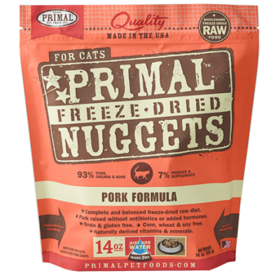 Primal Feline Freeze Dried Pork Formula