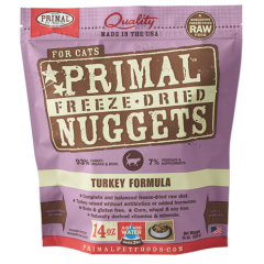 Primal Feline Freeze Dried Turkey Formula