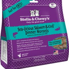 Stella & Chewy's Freeze Dried Salmon and Cod