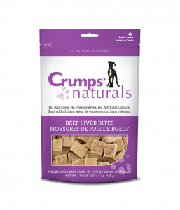 Beef Liver Bites treats for dogs