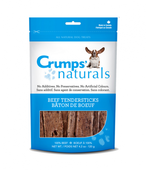 Beef Tendersticks natural dog treats