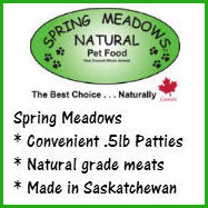 Spring Meadows Dog Food