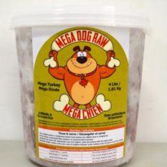 Mega Dog Raw Turkey