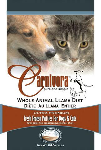 carnivora llama diet