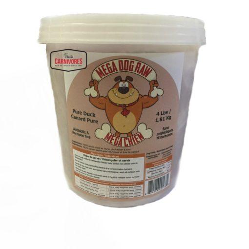 Mega Dog Raw Pure Duck | $4.24/lb