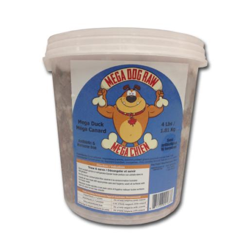 Mega Dog Raw Duck | $4.24/lb