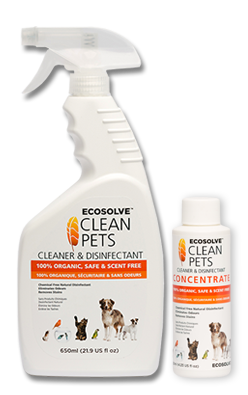 Ecosolve Clean Pets - Cleaner and Disinfectant