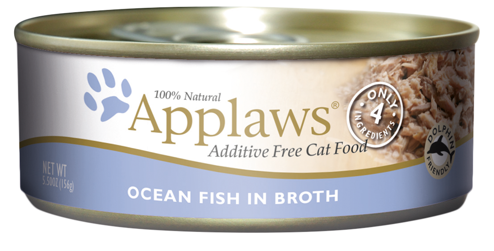 applaws seafood variety cans 156g   true carnivores