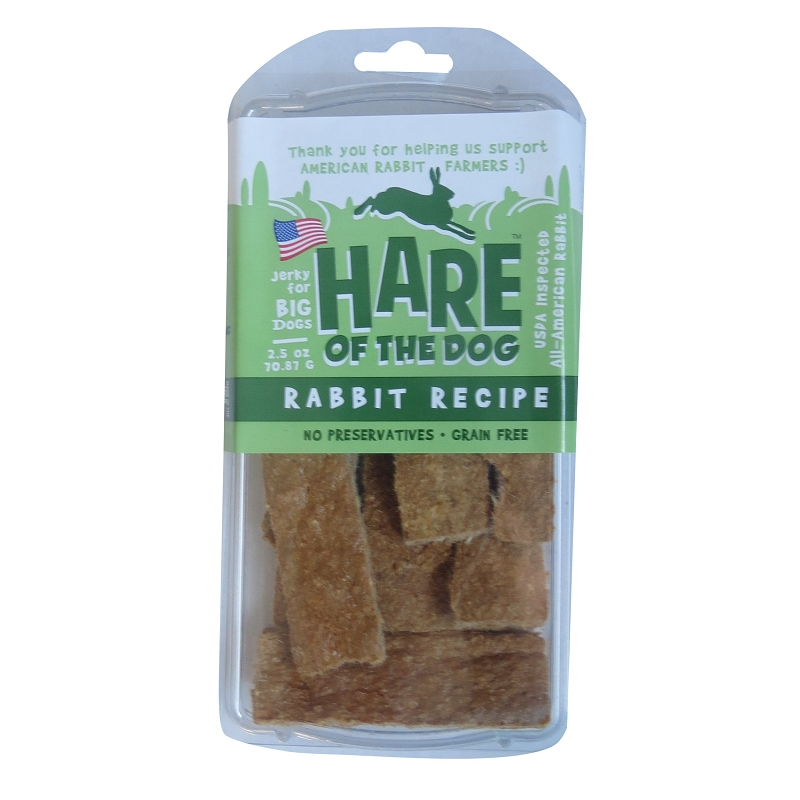 Dried Rabbit Dog Treats