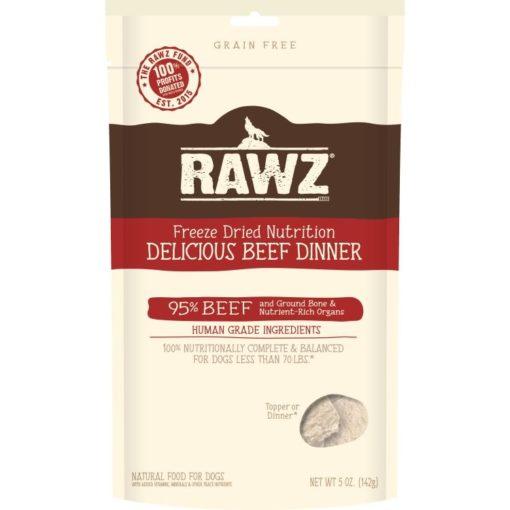 rawz freeze-dried beef