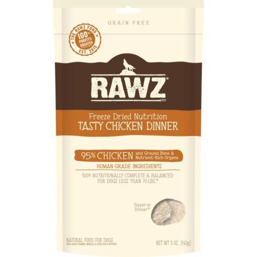 rawz freeze-dried chicken