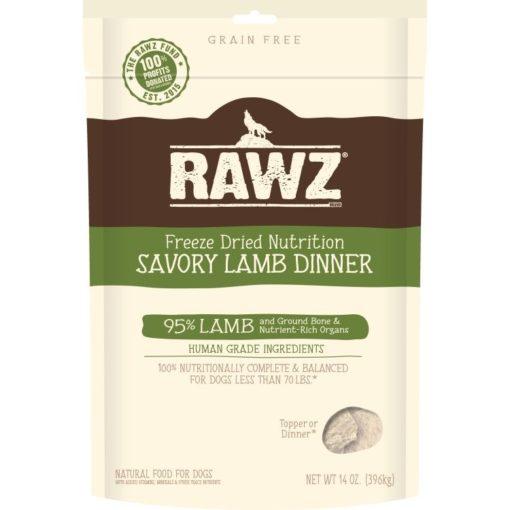 rawz freeze-dried lamb