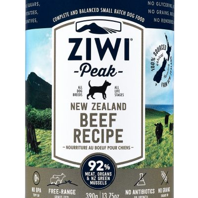 ZiwiPeak Canned Dog Cuisine 390g