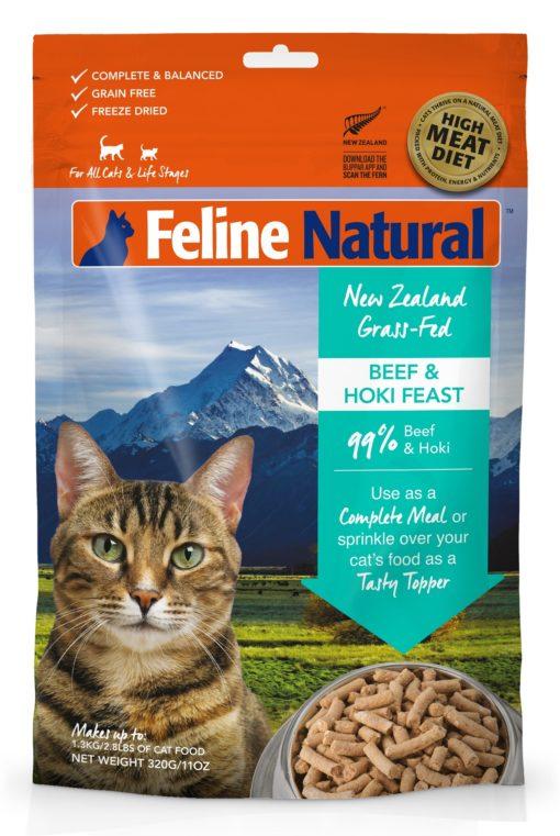 Feline Natural Beef and Hoki Feast