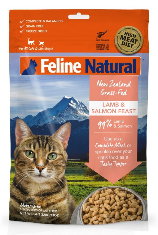 Feline Natural Lamb and Salmon Feast