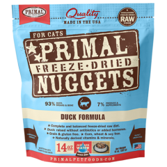 Primal Feline Freeze Dried Duck