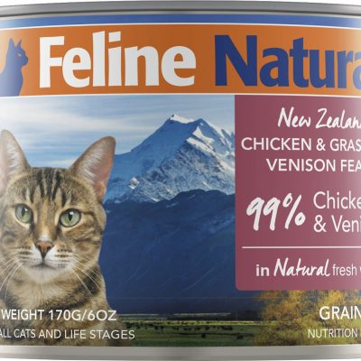 Feline Natural Canned Cat Cuisine