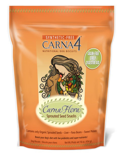 Carna4 Carna Flora Sprouted Seed Snacks