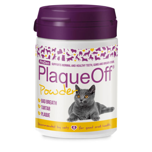 PlaqueOff Powder for Cats by Proden