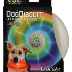 NightIze Dog Discuit LED Flying Disc