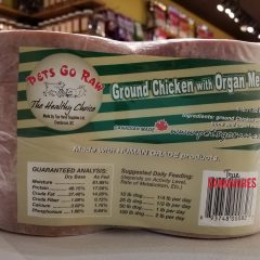 Pets Go Raw Chicken with Organ Meat | $2.20/lb