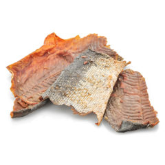 One Ingredient Salmon Skin Jerky