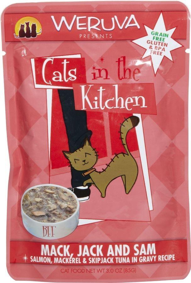 Weruva Cats In The Kitchen Fish Pouches True Carnivores