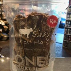 One Ingredient Stinky Beef Flats