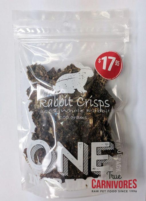 True Carnivores Rabbit Crisps