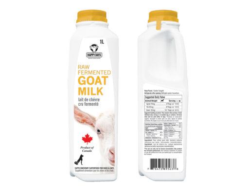 Happy Days Raw Fermented Goats Milk
