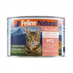 Feline Natural Lamb and Salmon Canned Cat Cuisine