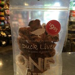One Ingredient Freeze Dried Duck Liver