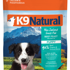 K9 Natural Freeze Dried Puppy Beef Feast